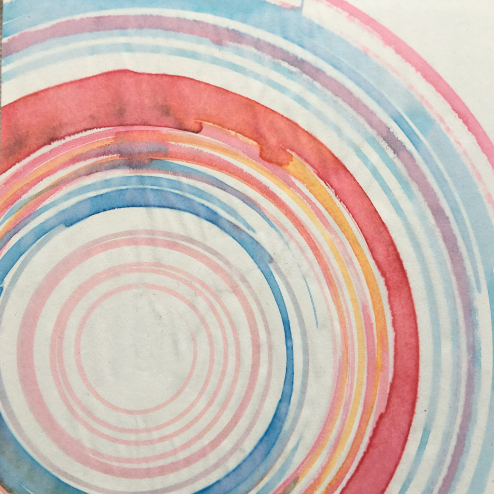 Concentric | Tempera on Paper