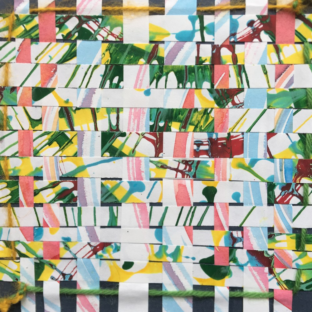 Woven | Tempera on Paper