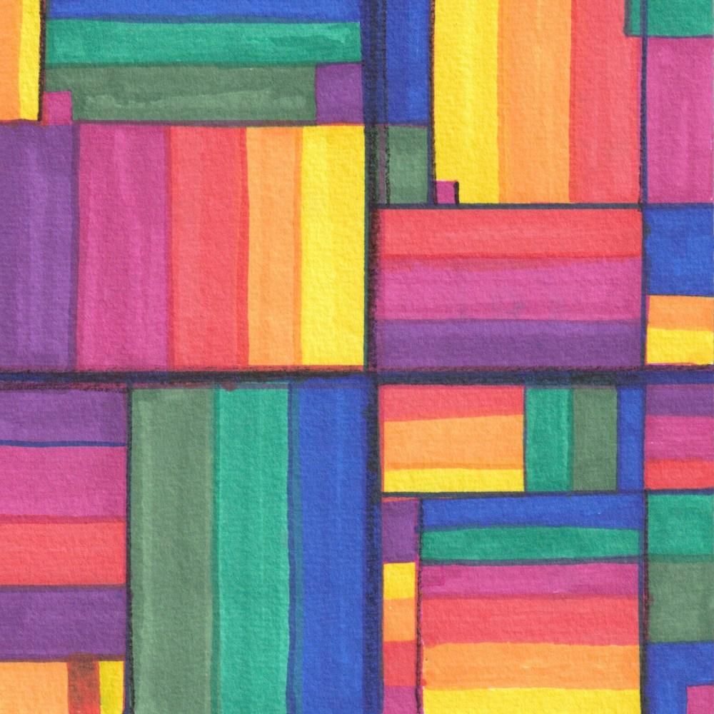 #80 | Hue Blocks