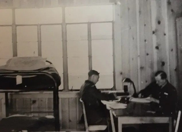 Barracks Room, No. 6 British Flying Training School, 1943