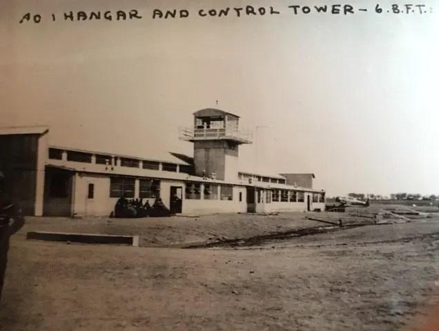 Hangar and Control Tower, No. 6 British Flying Training School, 1943