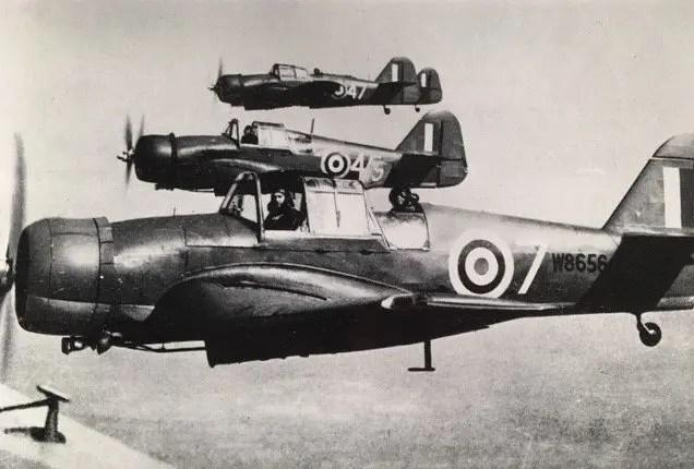 Three Miles Master II Aircraft in Flight