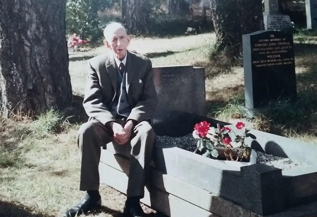 WW1 Veteran, Mr Jenkins close friend of Don Davies