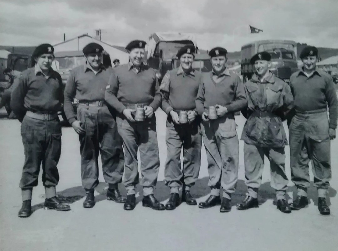 Driving Competition Winners. M.T. Rally. 1966. 160 Brigade