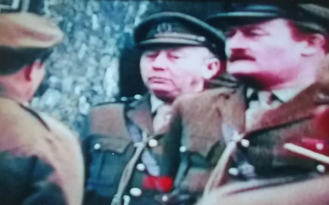 Don Davies playing an Officer in Mike ….1974 television series 'Days of Hope'
