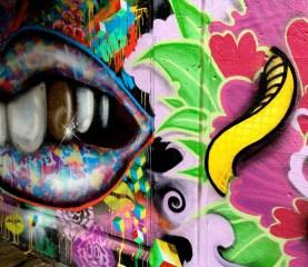 New murals under Bloor Lansdowne bridge