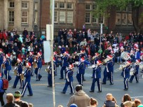 marching brass and drum band