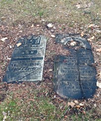Some very old headstones