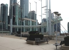 Great deck on the Toronto Convention Centre.