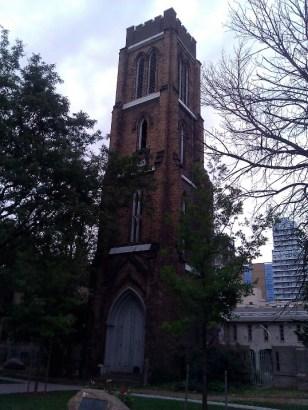 (Elizabeth Stewart's photo) St George the Martyr Church (197 John Street - clocktower from 1845!)