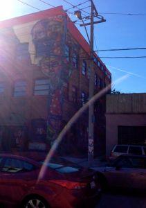 Neat Elicsr mural near Sumach & Queen.