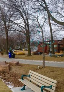 same boardwalk Christmas decorated tree as last year?? :-)