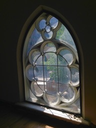 Daniels Architecture bldg U of T - beautiful old rosette window just needs a little polish!