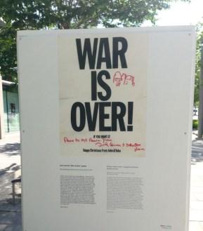 Making Peace - a card from John Lennon/Yoko Ono to Lester Pearson!