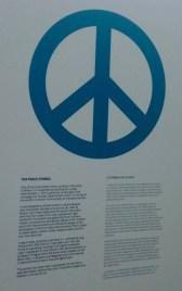 Making Peace... the peace symbol