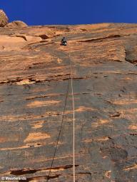 20070224 Wadi Rum Klettern1