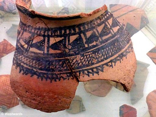 20140927 Sarazm Museum pottery P1130207