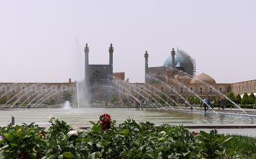 Naqshe Jahan Square in Isfahan