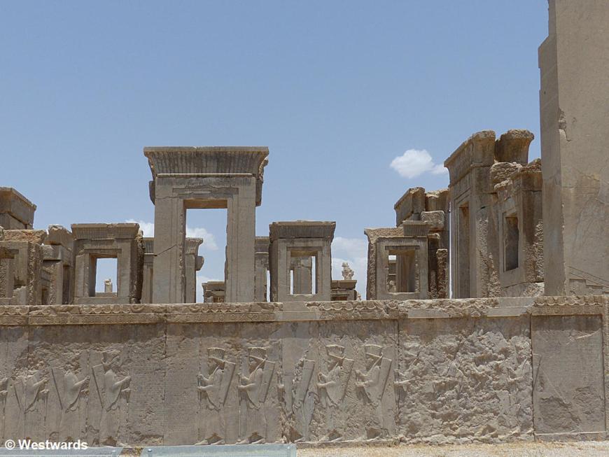 Palace of Darius in Persepolis