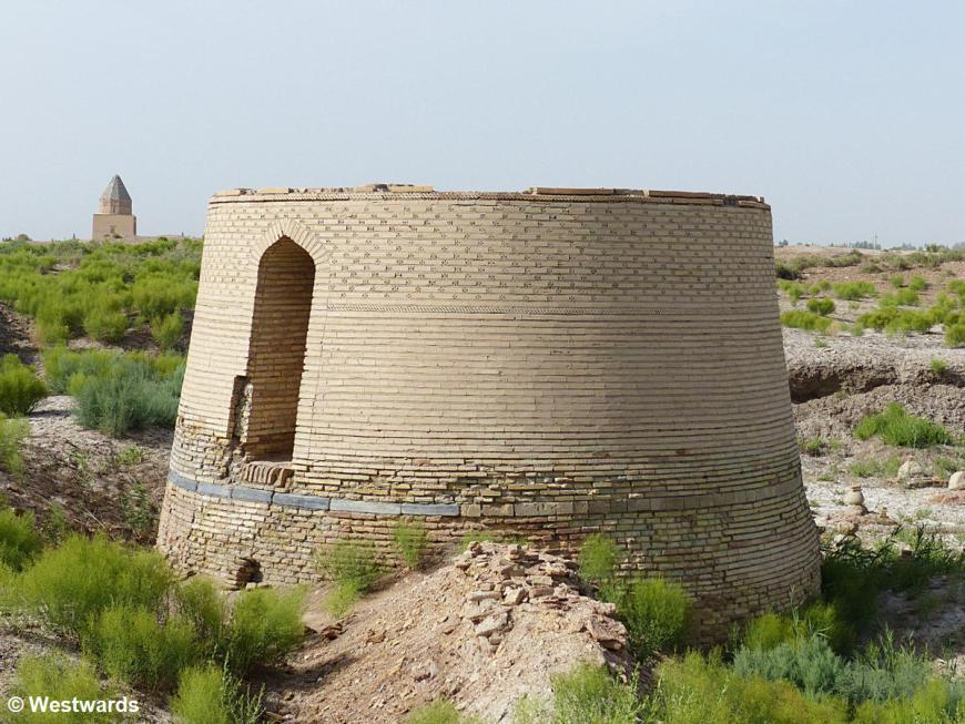 stump of Mamun II Minaret