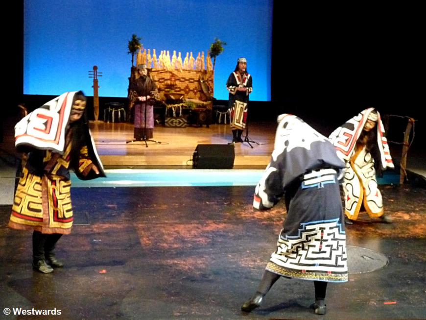 Akankotan Ainu Show