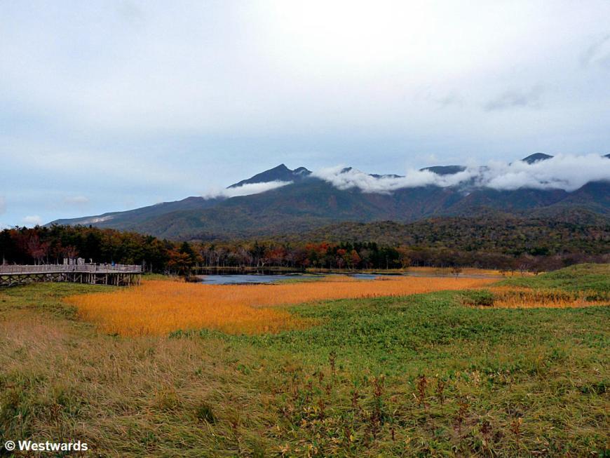 Shiretoko Goko Lakes and heath
