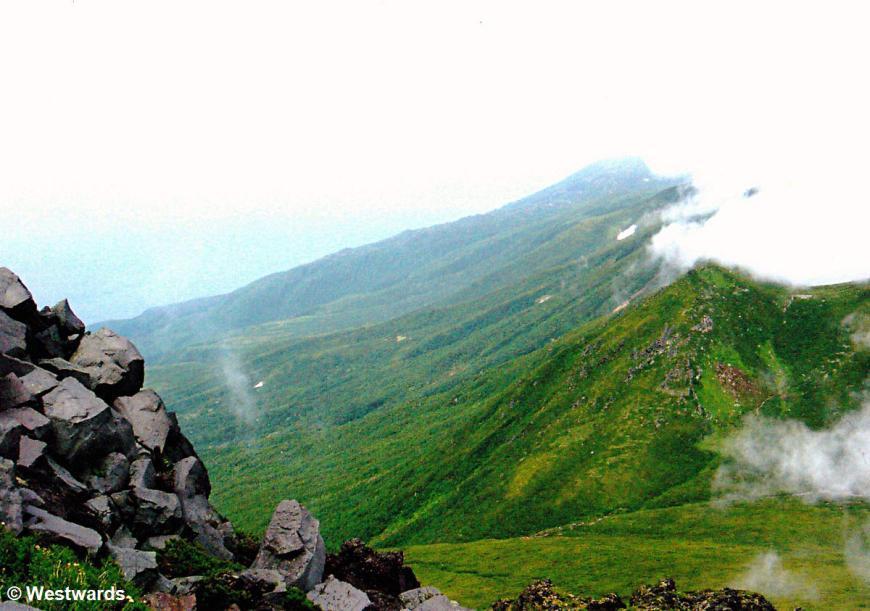 Mt Rausudake on Shiretoko