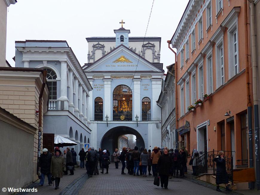gate in Vilnius old town