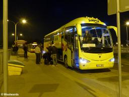 coach station by night
