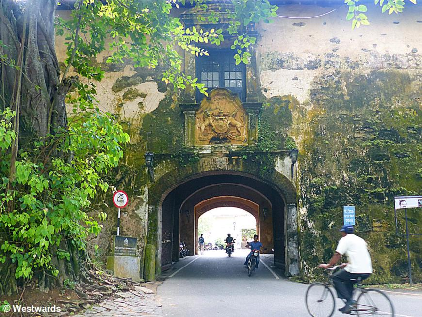 20160216 Galle Old town Tor P1250058