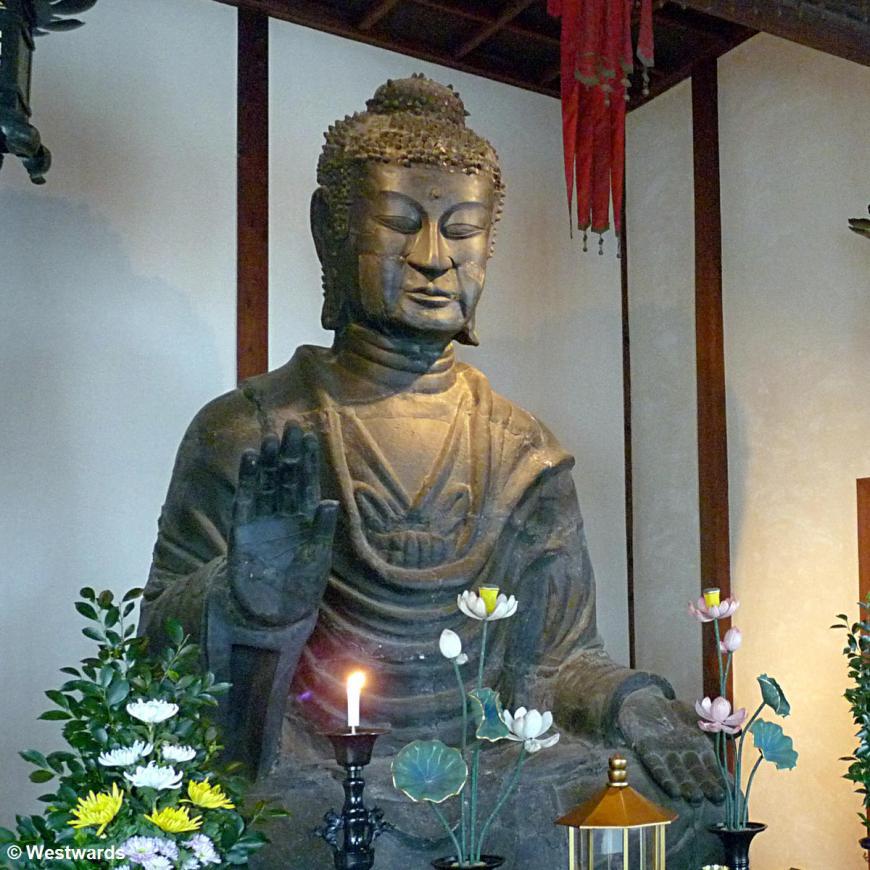 20160330 Asuka Asukadera Buddha 609AD P1480811