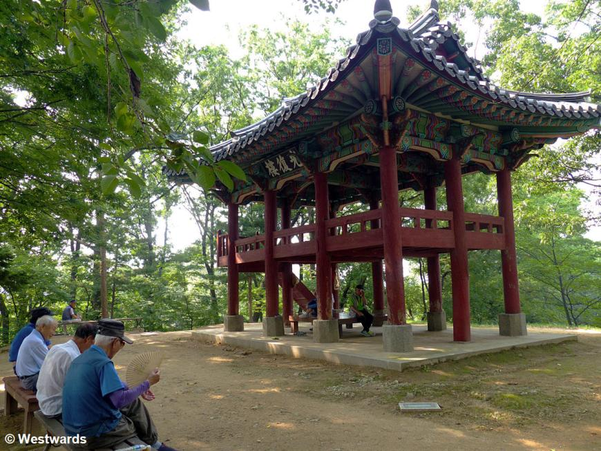 20170720 Gongju Gongsanseong Japan Liberation Pavillon P1460180
