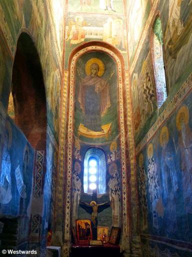 20170818 Gracanica Kirche Seitenkapelle Maria P1460884