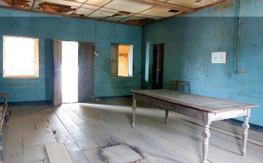 Rotten room at Maison des Esclaves in Agbodrafo