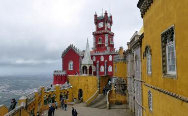 Colorful Palacio Pena
