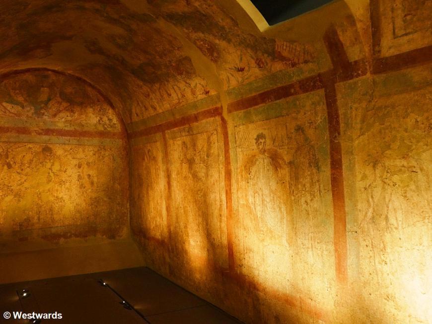 20180929 Thessaloniki BM tomb 4th century AD P1570905