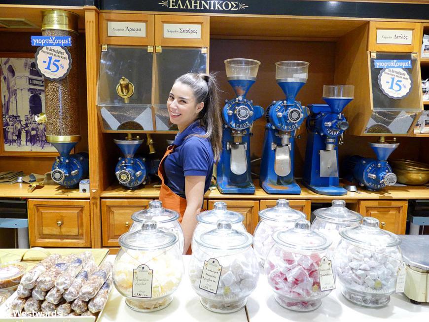 20180929 Thessaloniki Kaffeegeschaeft P1570876