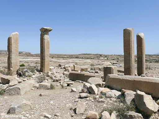 Ruins of Maryam Wakito in Qohaito