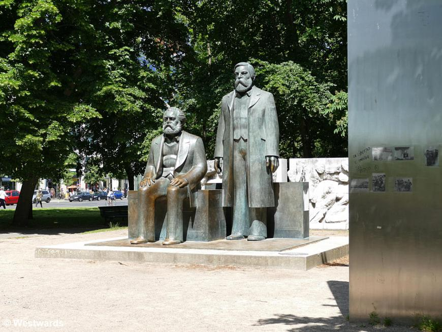 Marx and Engels monument in Berlin