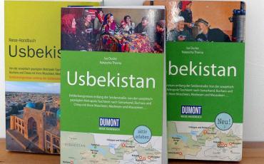 Reishandbuch Usbekistan Three different editions