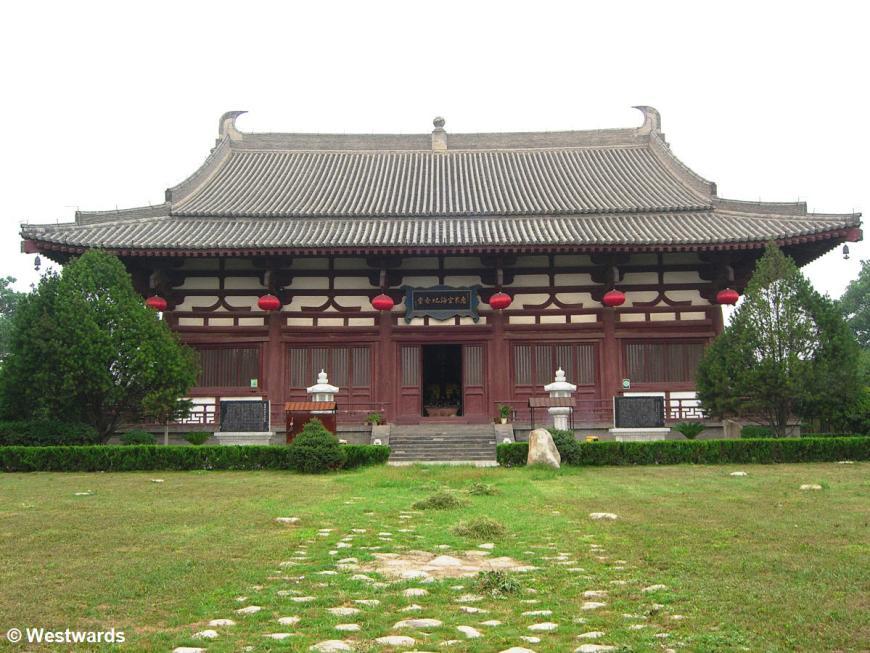 Our Xian highlight was the Qinglongsi temple where Kukai studied