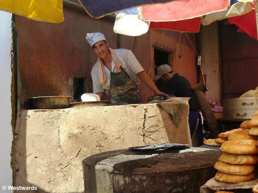 Flatbread on the Turfan Market