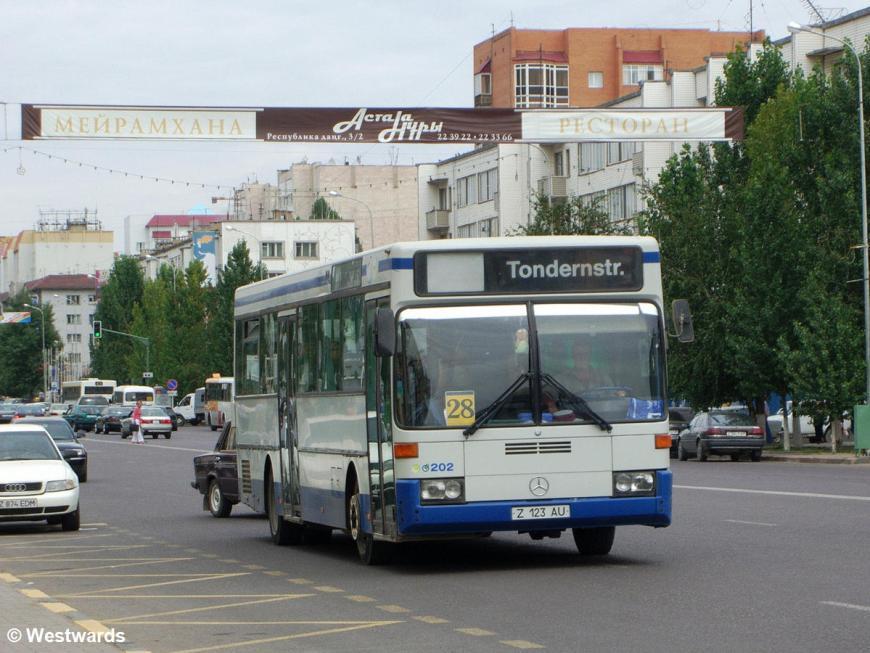 City Bus in Astana