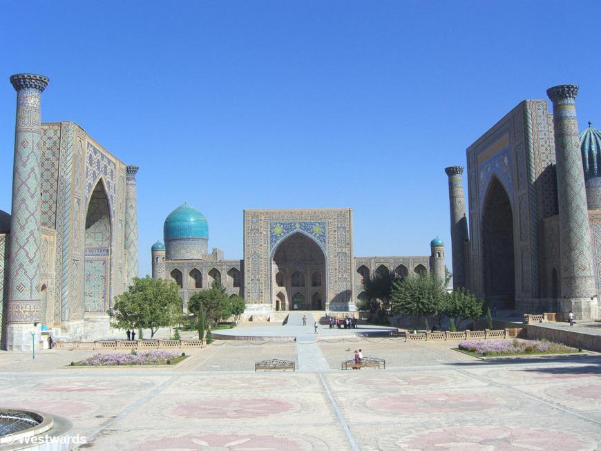 Registan madrasas in Samarkand