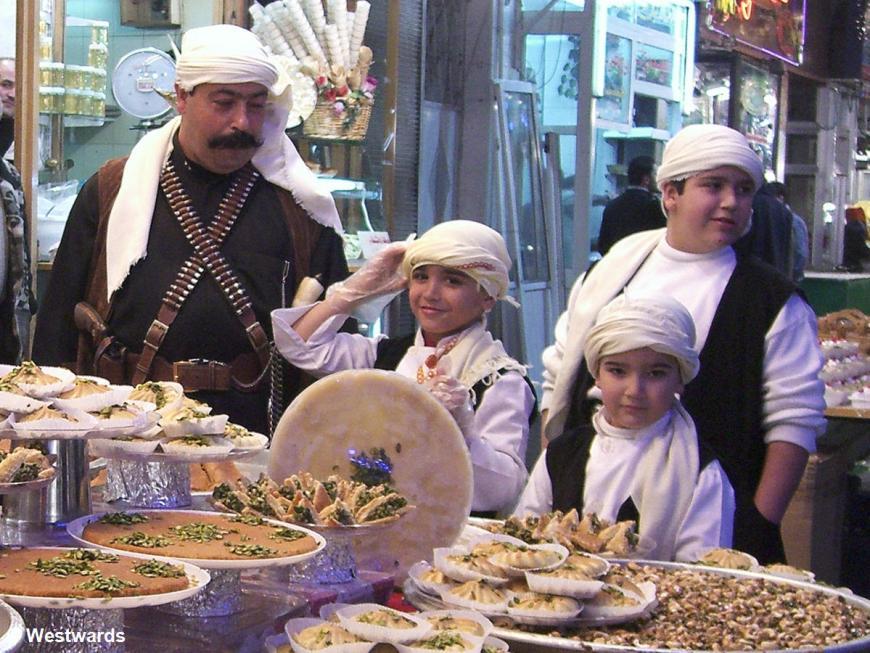 20070112 Damaskus Kitchenstreet Familie