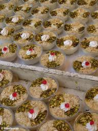 Syrian sweet puddings