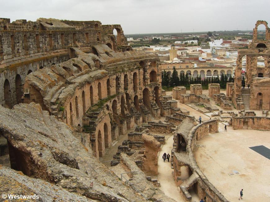 20070419 El-Jem Colosseum3
