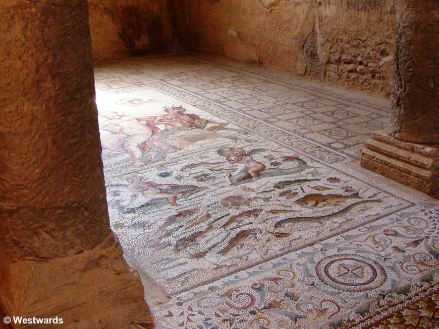 20070421 Bulla Regia Amphitritepalast Mosaik1