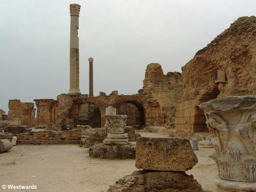 20070424 Carthage Archeologischer Park Antonius Pius Therme2