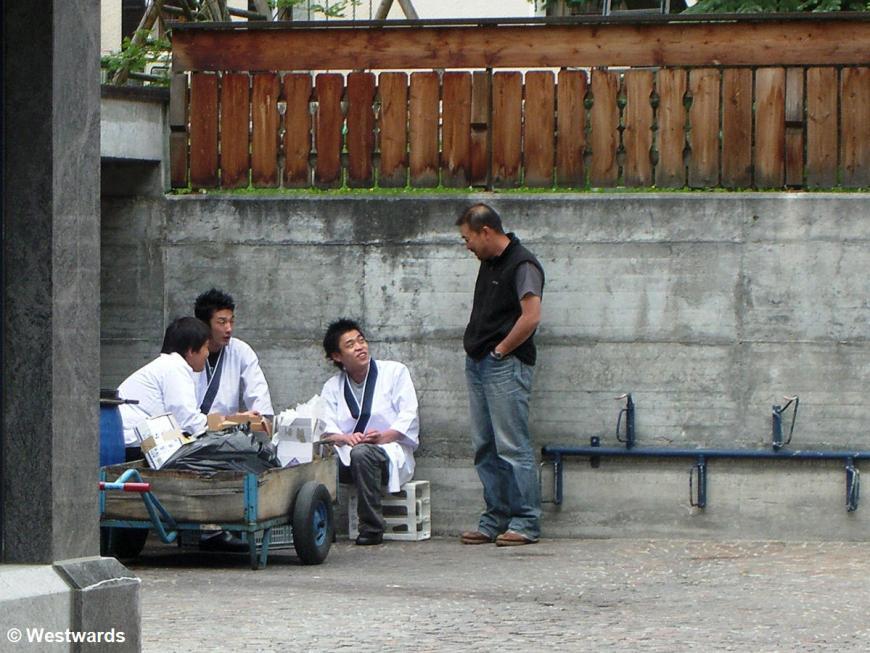 20070703 Zermatt japanische Kellner